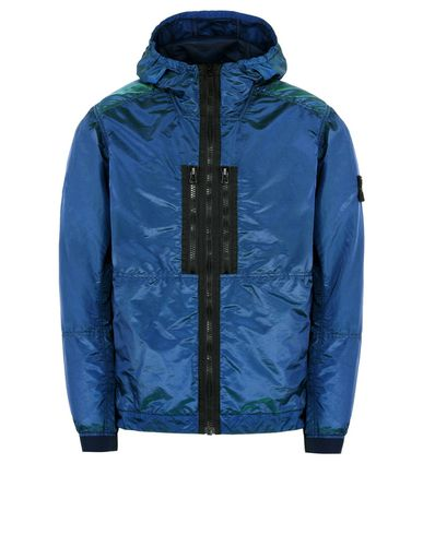 STONE ISLAND Jacket 42848 NYLON METAL WATRO COLOUR WEFT