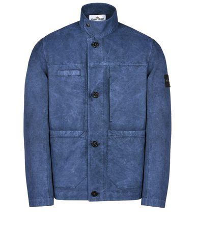 STONE ISLAND Mid-length jacket 42950 DAVID-TC WITH DUST COLOUR TREATMENT