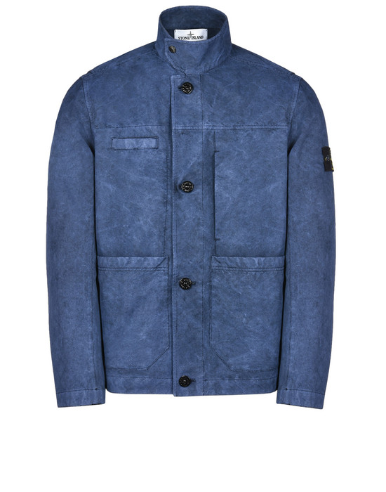 STONE ISLAND Mid-length jacket 42950 DAVID-TC WITH DUST COLOUR TREATMENT