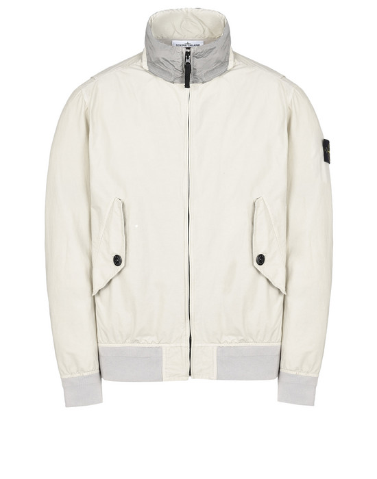 STONE ISLAND Mid-length jacket 42330 LIGHT COTTON NYLON TWILL_NYLON METAL WATRO