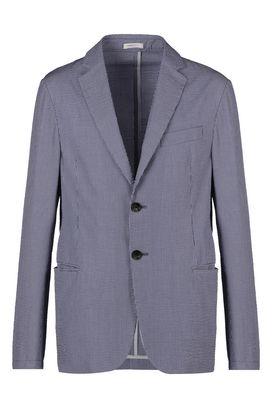 Armani Giacche a due bottoni Uomo giacca due bottoni in 100% cotone  a righe strette
