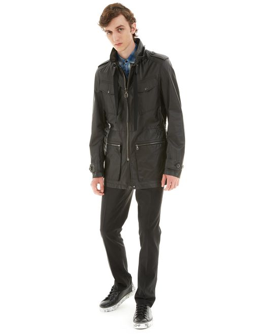 lanvin lightweight safari jacket men