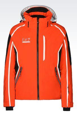 Armani Outerwear Men technical ski jacket with klingler® technology