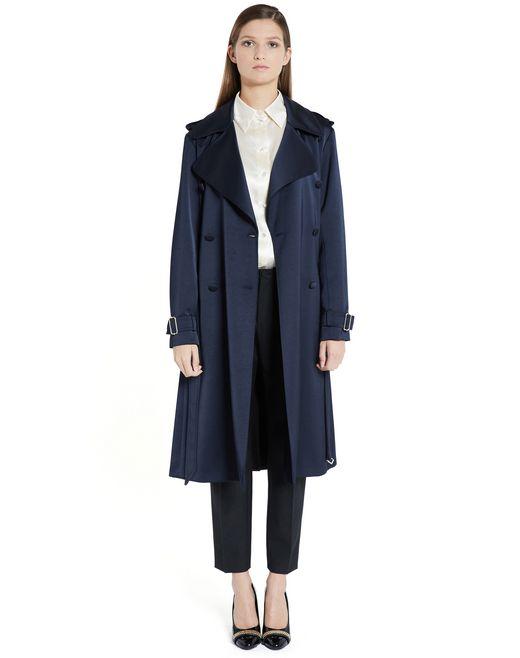 lanvin satin coat  women