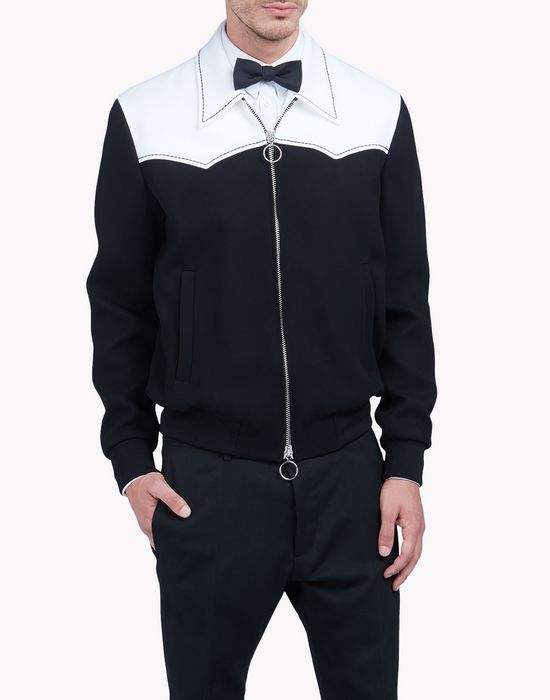 contrasted western jacket coats & jackets Man Dsquared2