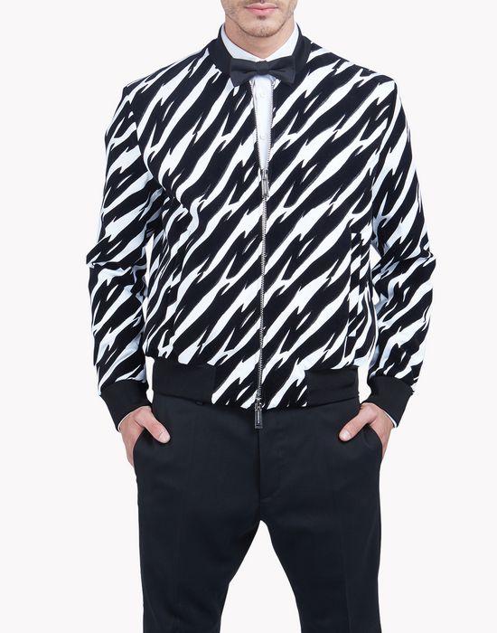 tiger flash bomber jacket coats & jackets Man Dsquared2