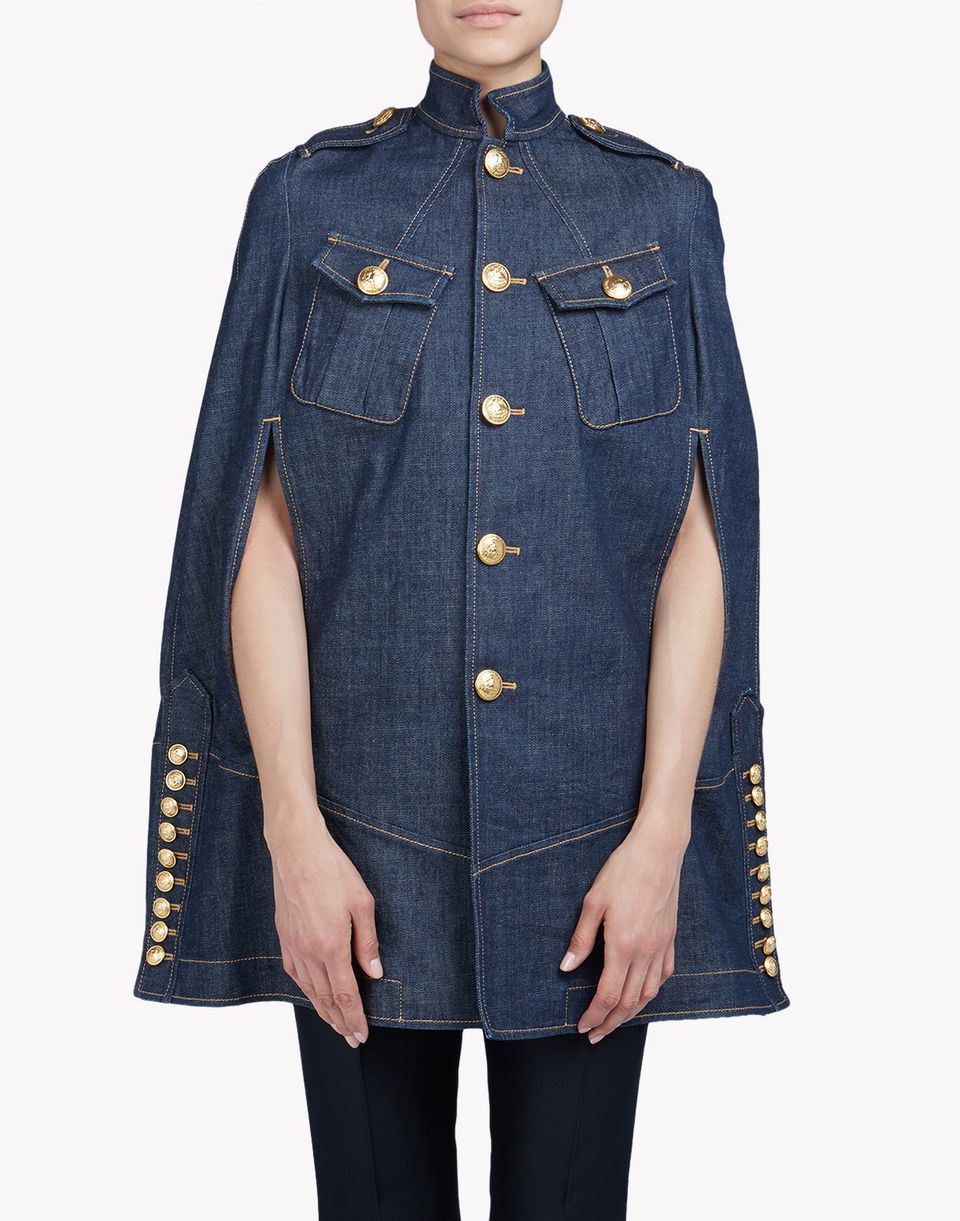 livery denim cape coats & jackets Woman Dsquared2
