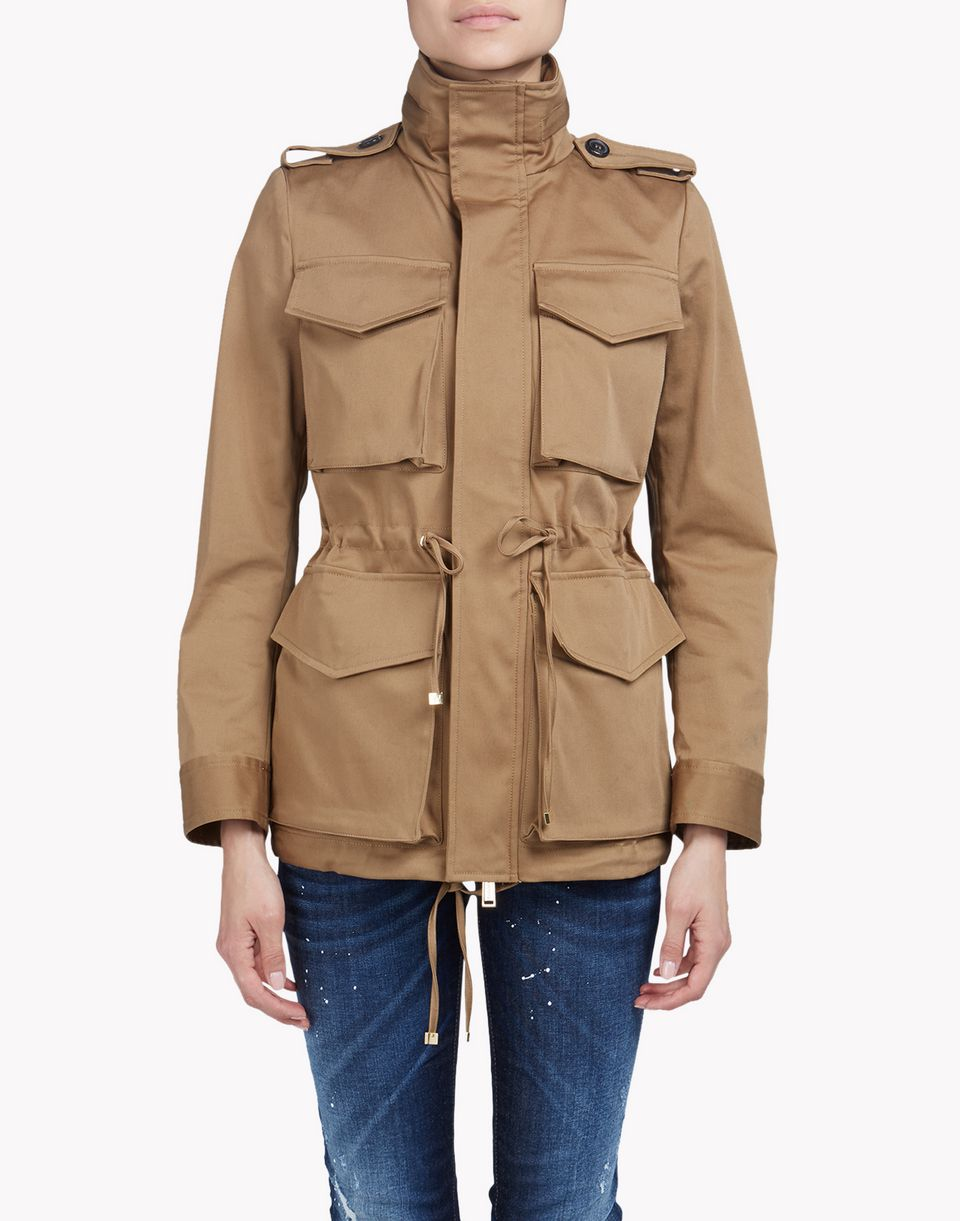 Utility Jacket Jackets And Nike: Dsquared2 Utility Cotton Jacket, Kaban Women