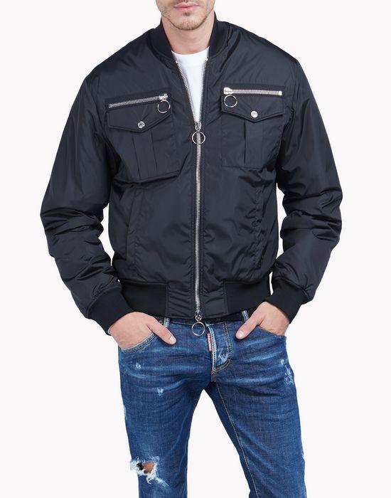 zipped pocket bomber jacket coats & jackets Man Dsquared2