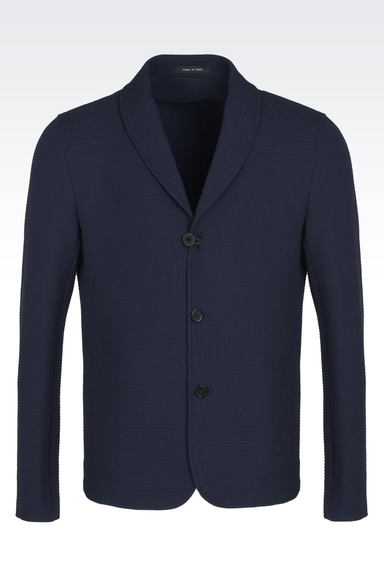 Emporio Armani Men's Blazers & Suit Jackets - Spring Summer 2017 ...