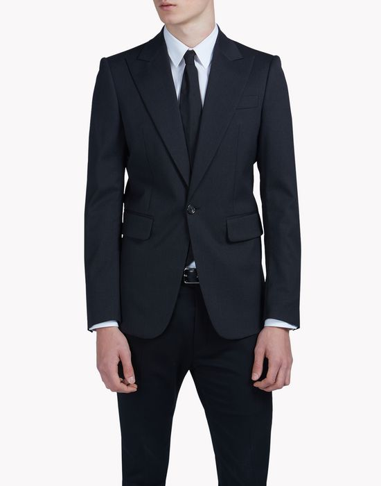 cool wool blazer coats & jackets Man Dsquared2