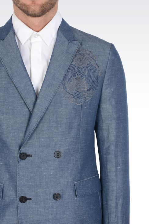 Jackets: Double-breasted jackets Men by Armani - 4