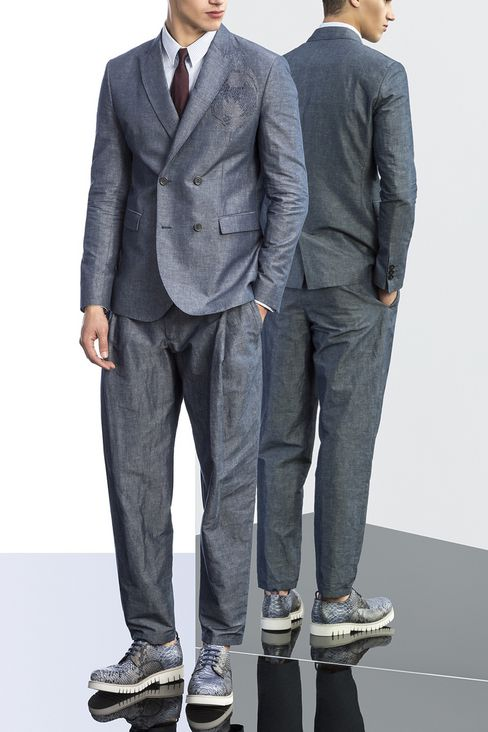 Jackets: Double-breasted jackets Men by Armani - 2