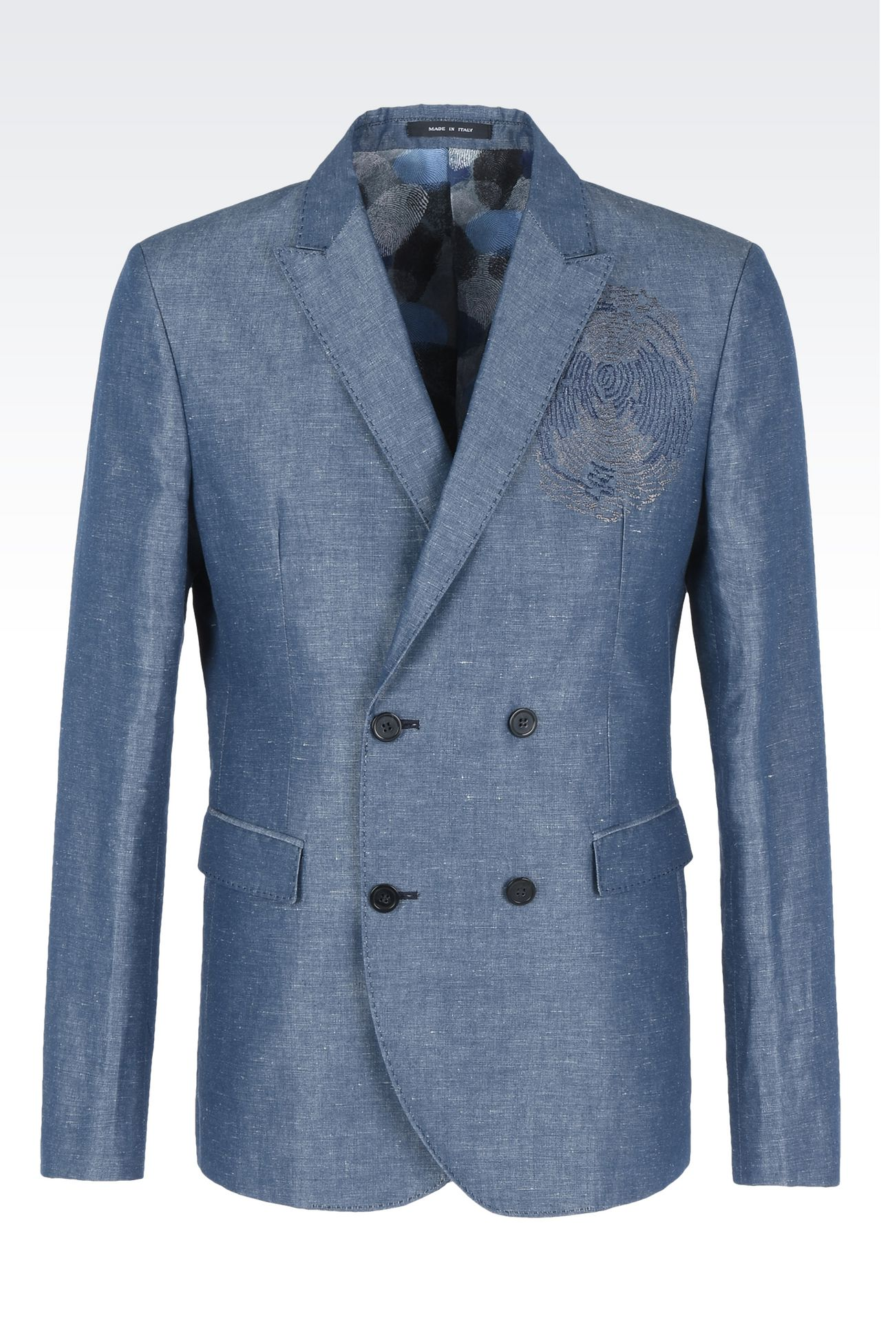 Jackets: Double-breasted jackets Men by Armani - 0