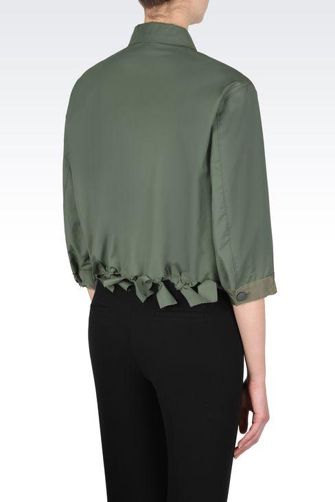 Outerwear: Dust jackets Women by Armani - 3