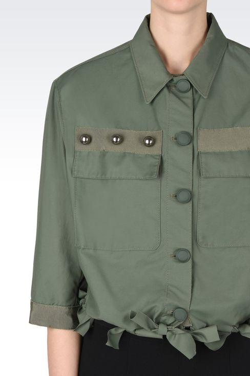 Outerwear: Dust jackets Women by Armani - 4