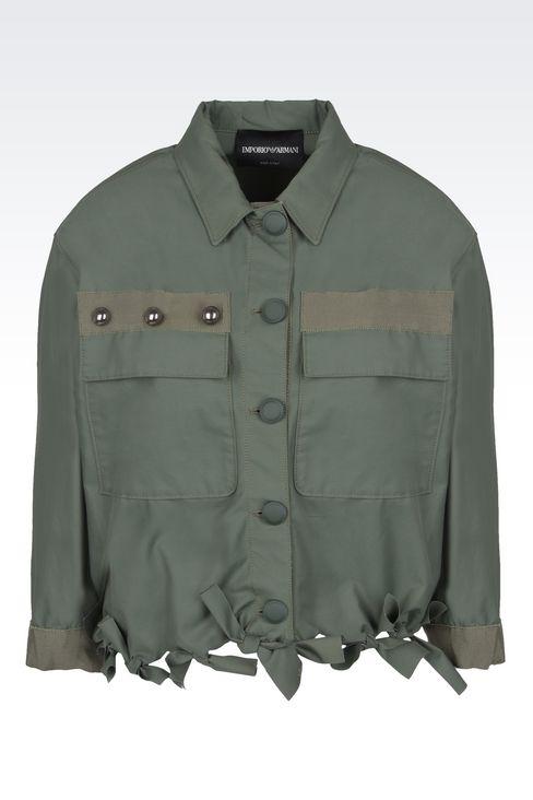 Outerwear: Dust jackets Women by Armani - 1
