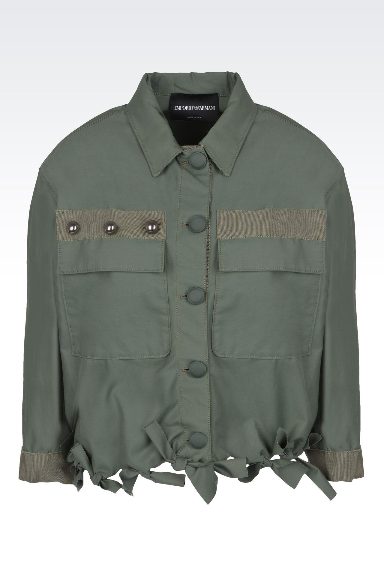 Outerwear: Dust jackets Women by Armani - 0
