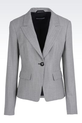 Emporio Armani Women&39s Blazers &amp Suit Jackets - Spring Summer 2017
