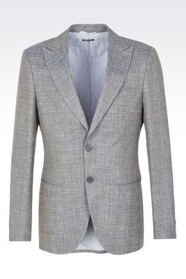 Armani Blazer Uomo giacca george in lana e seta
