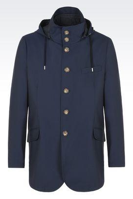 Armani Blazer Uomo giacca sportswear in misto lana