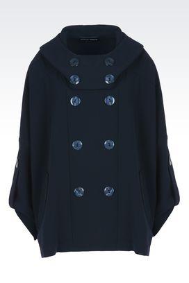 Armani Cappotti Donna cappa doppiopetto in lana
