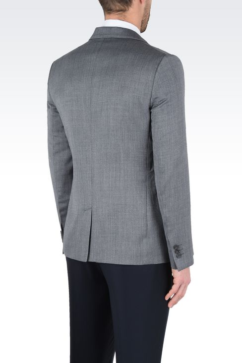 Jackets: One button jackets Men by Armani - 3