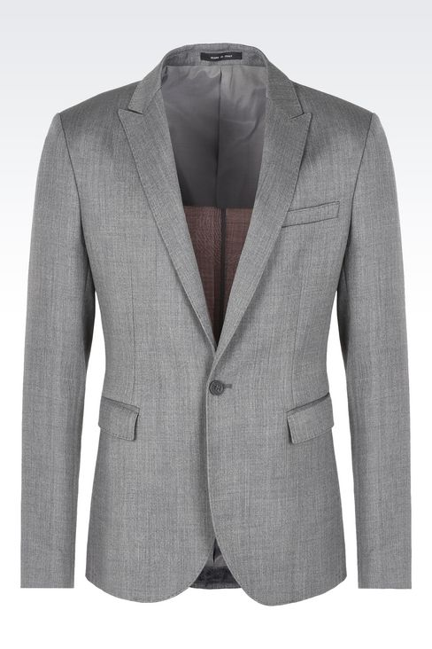 Jackets: One button jackets Men by Armani - 1