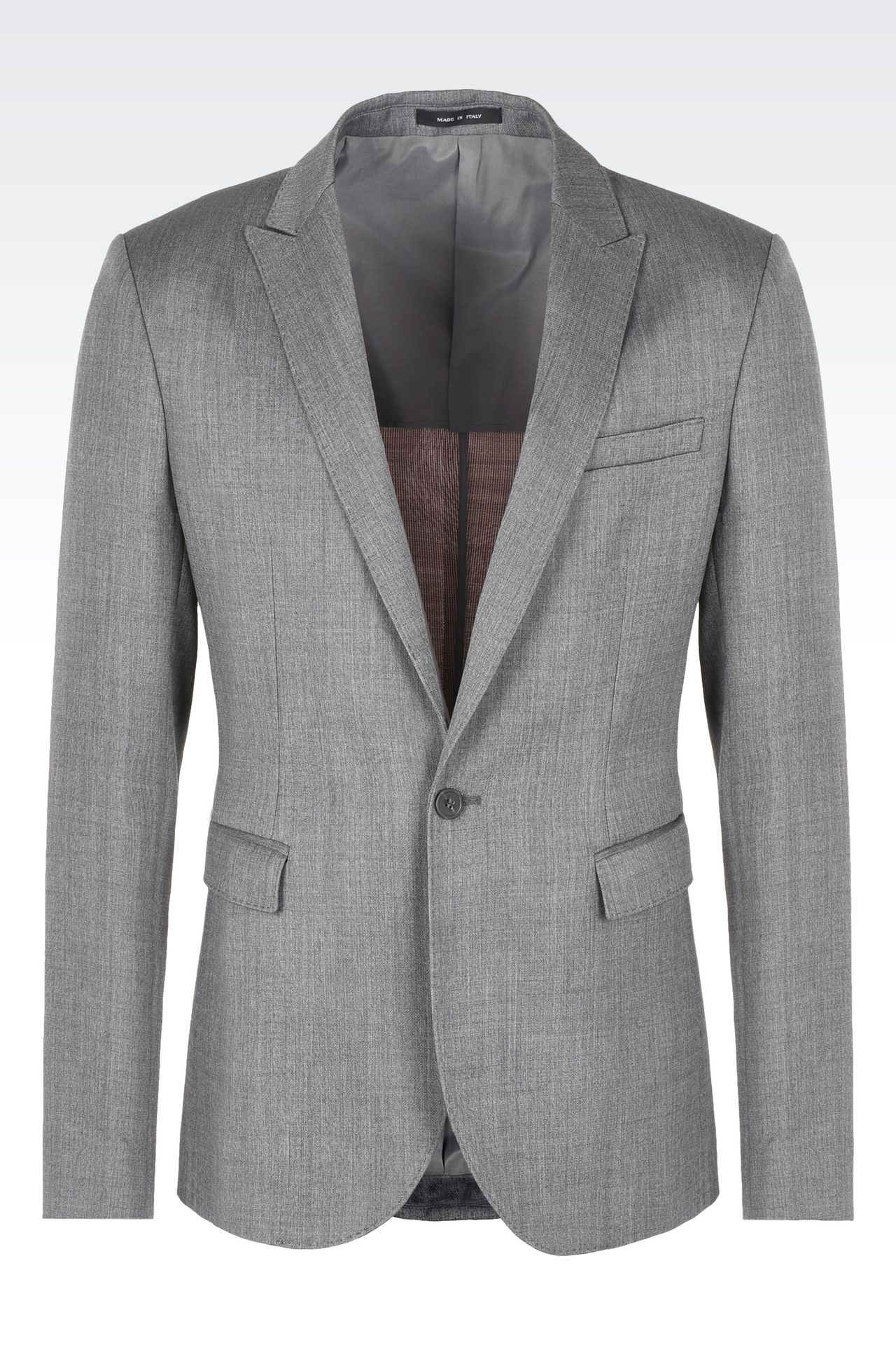 Jackets: One button jackets Men by Armani - 0
