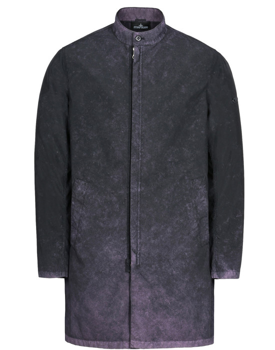 STONE ISLAND SHADOW PROJECT Coat 70203 STAND COLLAR CAR COAT WITH GATEWAY POCKETS (TPX-POLYESTER, TC+FALLOUT COLOUR TREATMENT INSIDE)