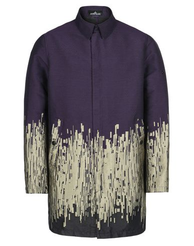 70501 CARCOAT WITH GATEWAY POCKETS (BIG LOOM JACQUARD COTTON POLYESTER POLYAMIDE)