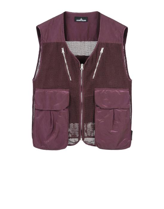 STONE ISLAND SHADOW PROJECT Vest G0107 MESH VEST (TONIC COTTON, MESH)