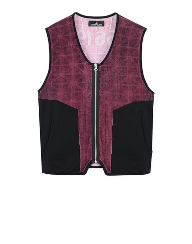 502A3 KNIT VEST (PIMA COTTON/NYLON POCKETS, 12 GAUGE)