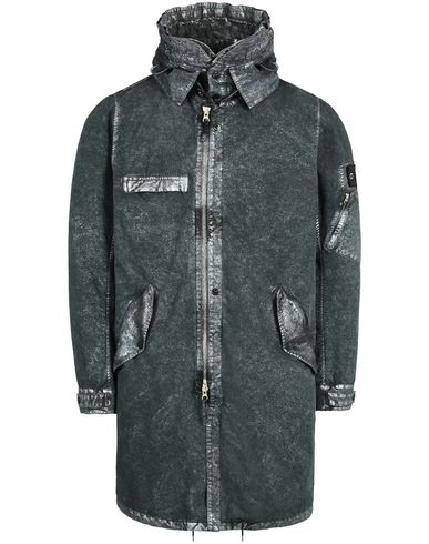 70404 FISHTAIL PARKA WITH GATEWAY POCKETS (DAVID-C, TC+ SILVER MIST TREATMENT)