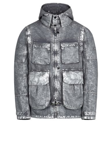 41004 DECONSTRUCT FIELD JACKET WITH GATEWAY POCKETS (DAVID-C, TC+SILVER MIST TREATMENT)