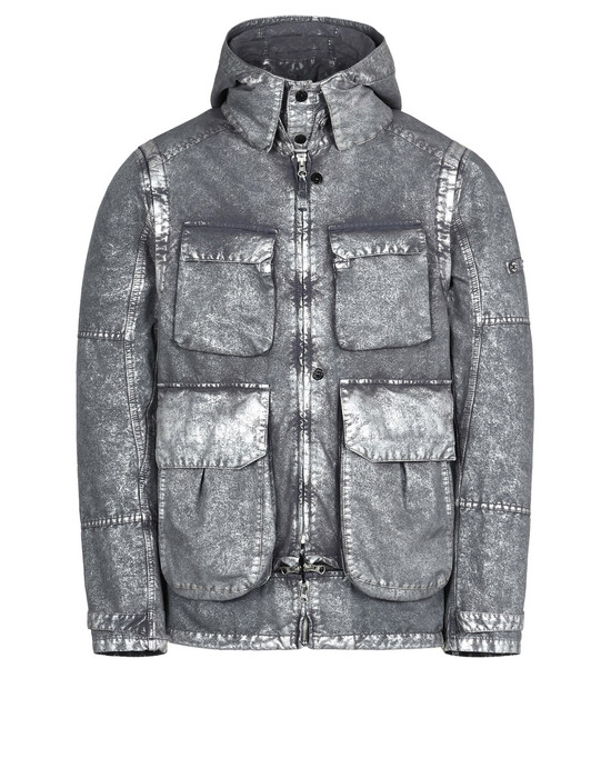 STONE ISLAND SHADOW PROJECT Mid-length jacket 41004 DECONSTRUCT FIELD JACKET WITH GATEWAY POCKETS (DAVID-C, TC+SILVER MIST TREATMENT)