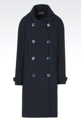 Armani Cappotti Donna cappotto in lana con collo a scialle