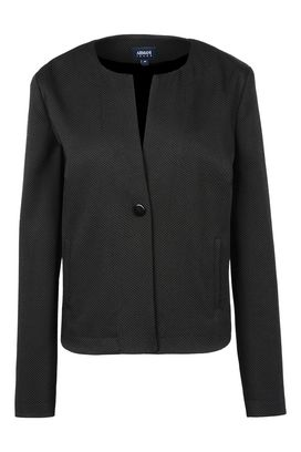 Armani One button jackets Women jacquard single button jacket