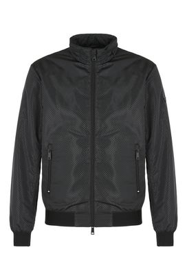 Armani Bomber jackets Men technical fabric bomber jacket
