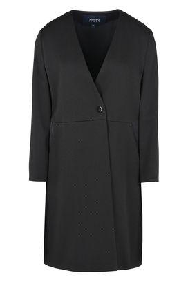 Armani Cappotti Monopetto Donna giacca in tessuto jacquard monobottone