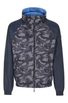 Armani Bomber jackets Men double faced technical fabric bomber jacket