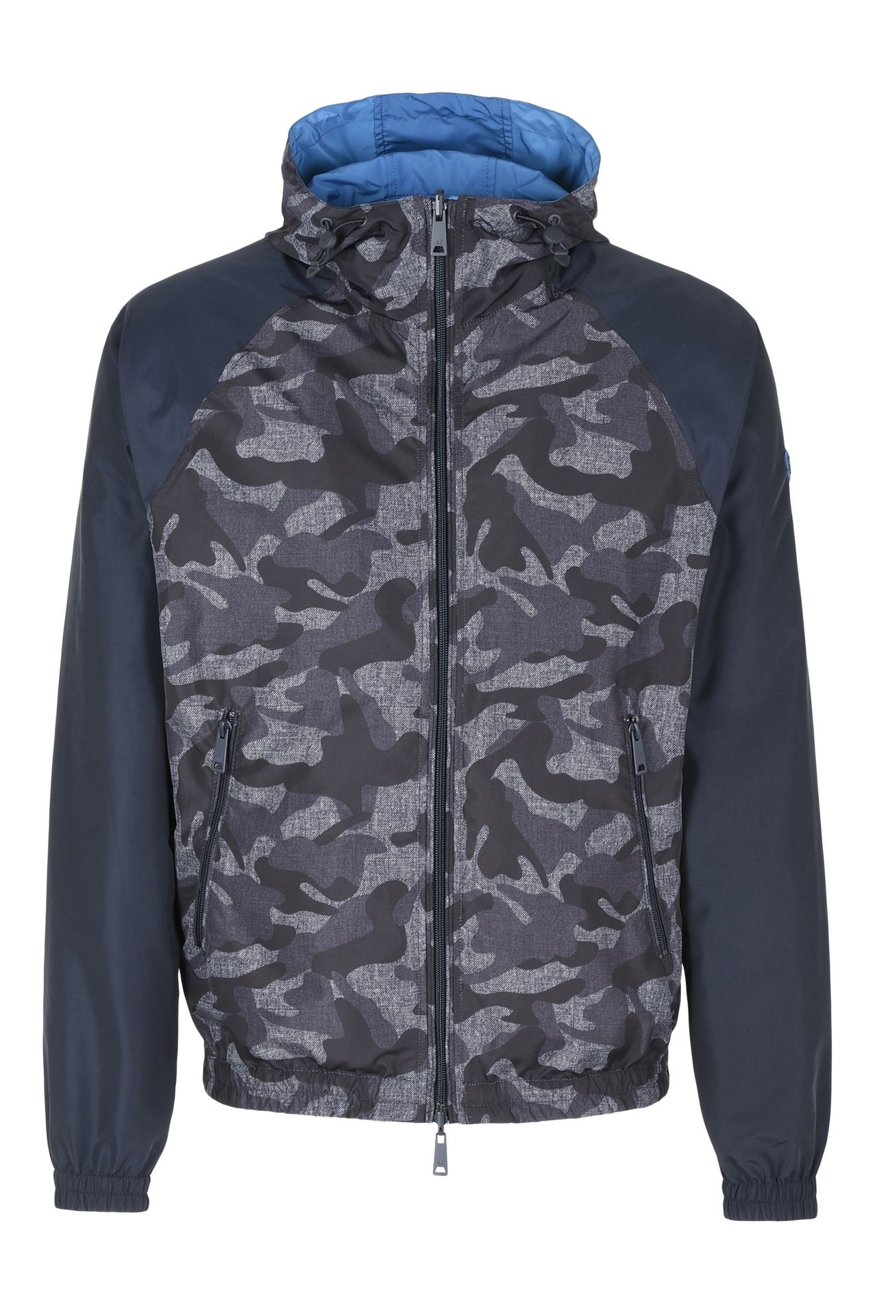 Armani Collezioni Men DOUBLE FACED TECHNICAL FABRIC BOMBER JACKET ...