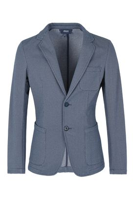 Armani Two button jackets Men cotton jacquard two-button jacket