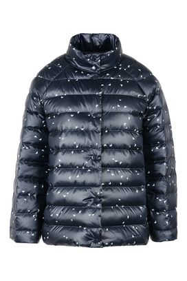 Armani Down jackets Women reversible technical fabric down jacket