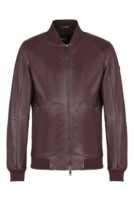 Armani Bomber jackets Men leather blouson jacket