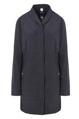 Armani Cappotti Monopetto Donna giacca in tessuto tecnico con spacchi laterali