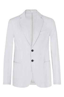 Armani Giacche a due bottoni Uomo giacca due bottoni in cotone elasticizzato