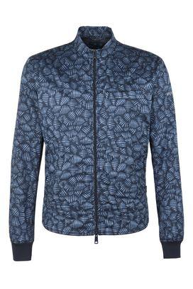 Armani Bomber Uomo blouson jacket in 100% cotone con stampa digitale