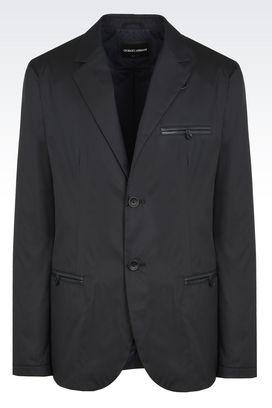 Armani Blazer Uomo giacca monopetto in jacquard