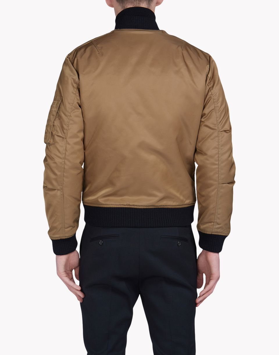 aviator puffed bomber jacket coats & jackets Man Dsquared2